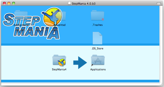 StepMania installer .dmg